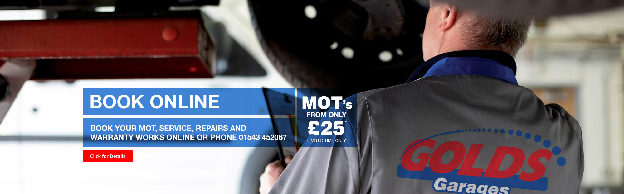 Mot Tyres Servicing And Repair Golds Garages Brownhills
