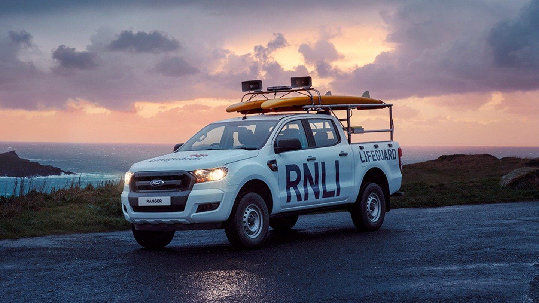 ford supports  rnli car van mot service  repair golds garages lichfield road
