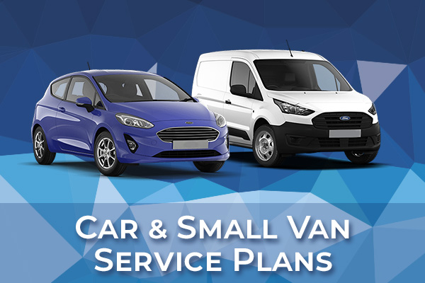 Car and Small Van Service Plans